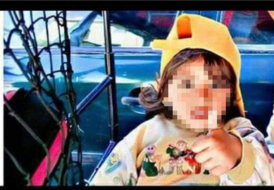 الطفل ضحية حادث تصادم مدينة بدر