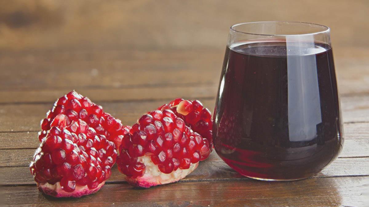 فوائد عصير الرمان 1