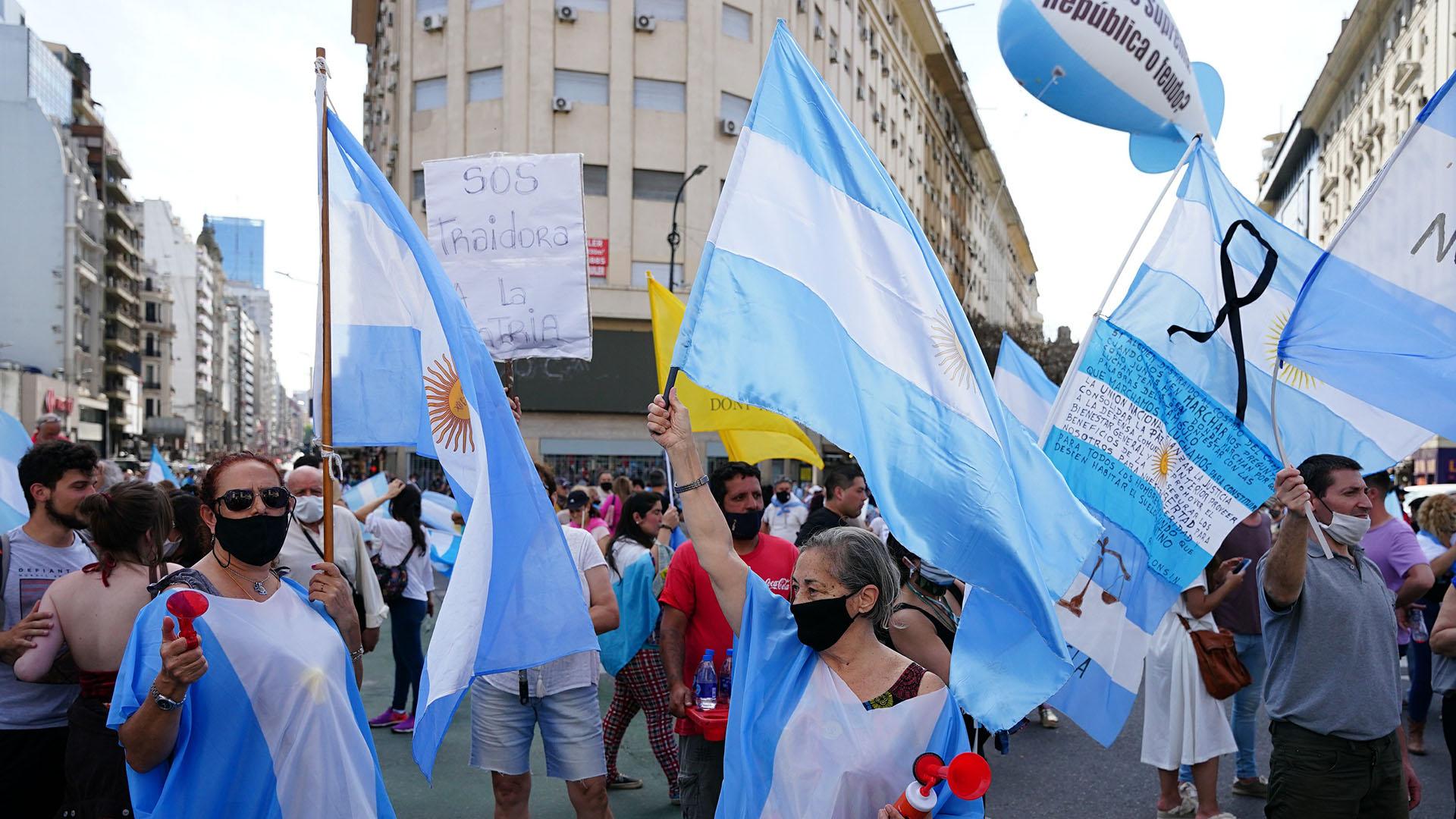 بوينيس آيريس والاحتجاجات