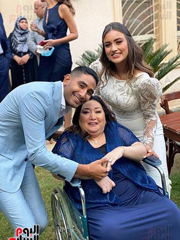 عصام الحضرى يحتفل بخطوبة ابنته شاهندة (2)