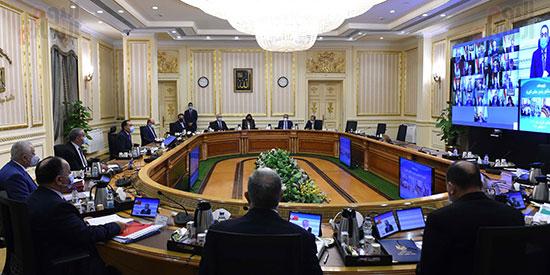 اجتماع مجلس الوزراء، عبر تقنية الفيديو كونفرانس  (5)
