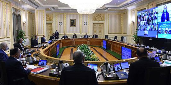اجتماع مجلس الوزراء، عبر تقنية الفيديو كونفرانس  (4)