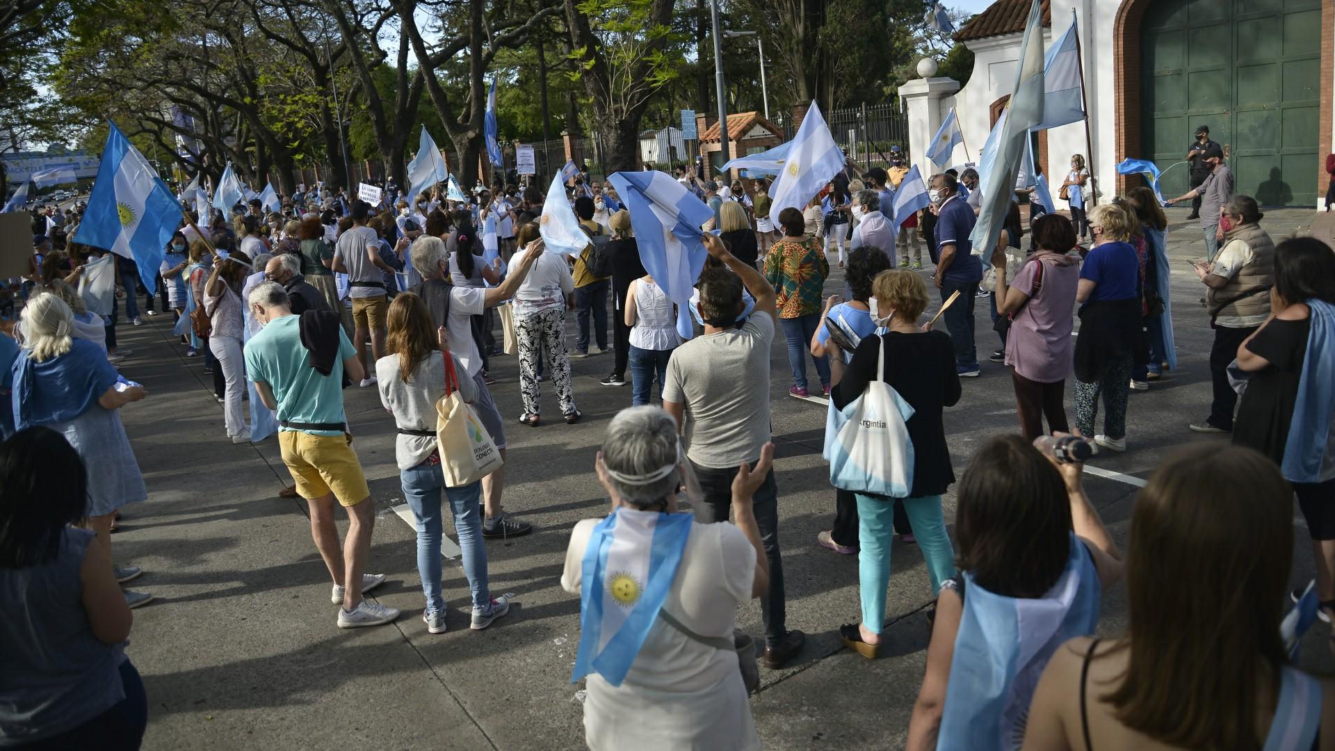احتجاجات واسعة ضد الحكومة الارجنتينية