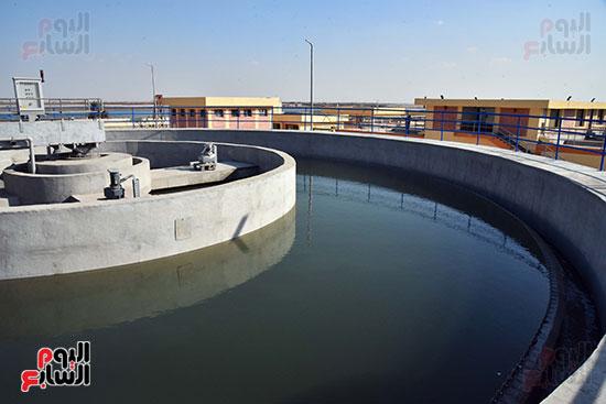 رئيس الوزراء يتفقد مشروع إنشاء محطة ترشيح المياه السطحية (1)