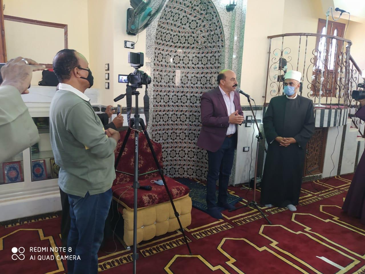 افتتاح مسجدى عمرو بن العاص والعتيق بمركز إدفو (7)