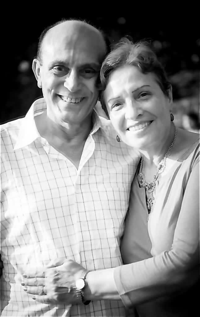 محمد صبحى وزوجته