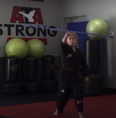 جانب من التدريبات