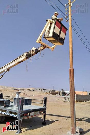 وسط سيناء فى قلب اهتمام الدولة (7)