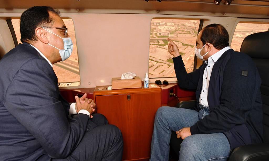 الرئيس السيسي ود. مصطفى مدبولي