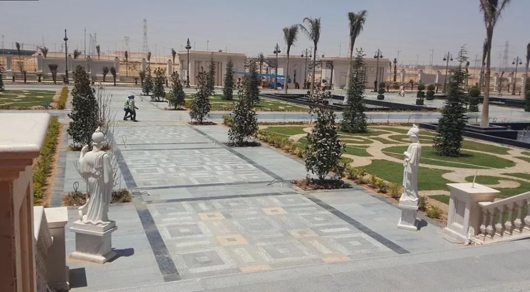 صورة للمدينة الفنية والثقافية بالعاصمة الإدارية