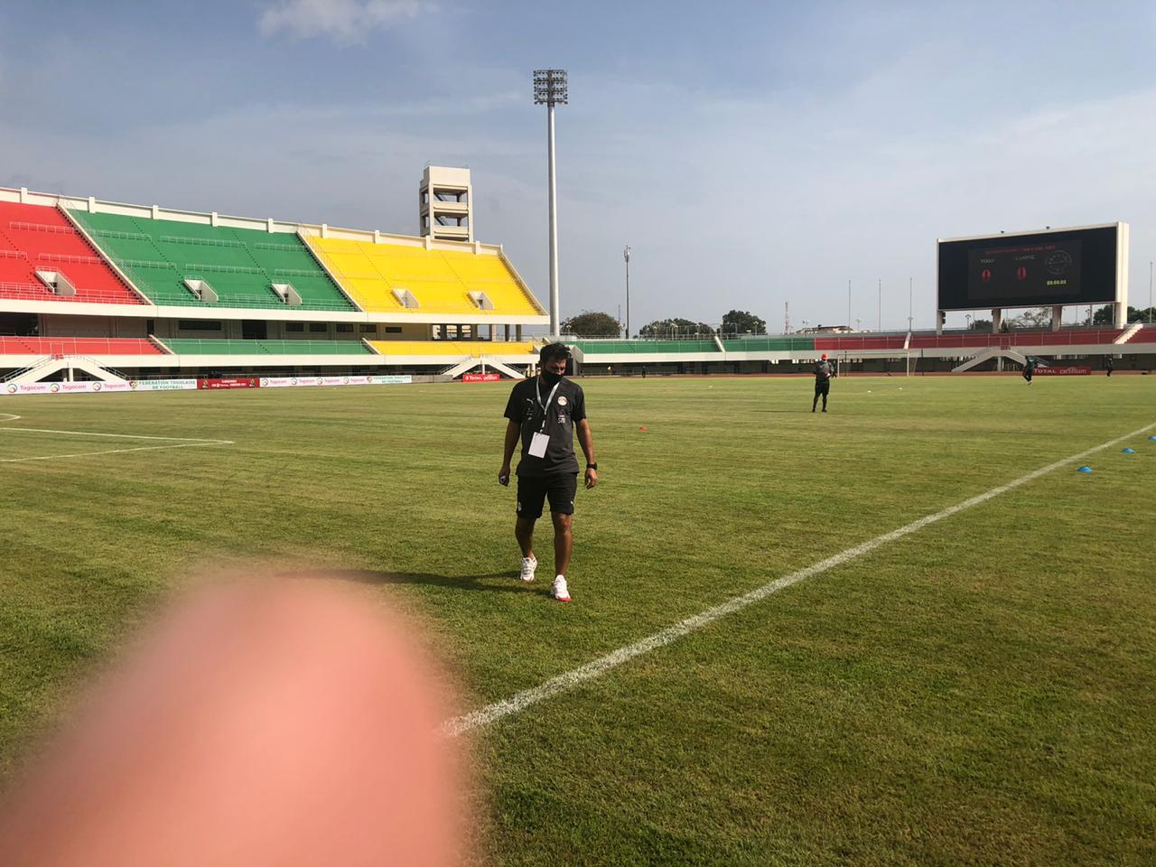 صناديق مباراة توجو ضد مصر (3)