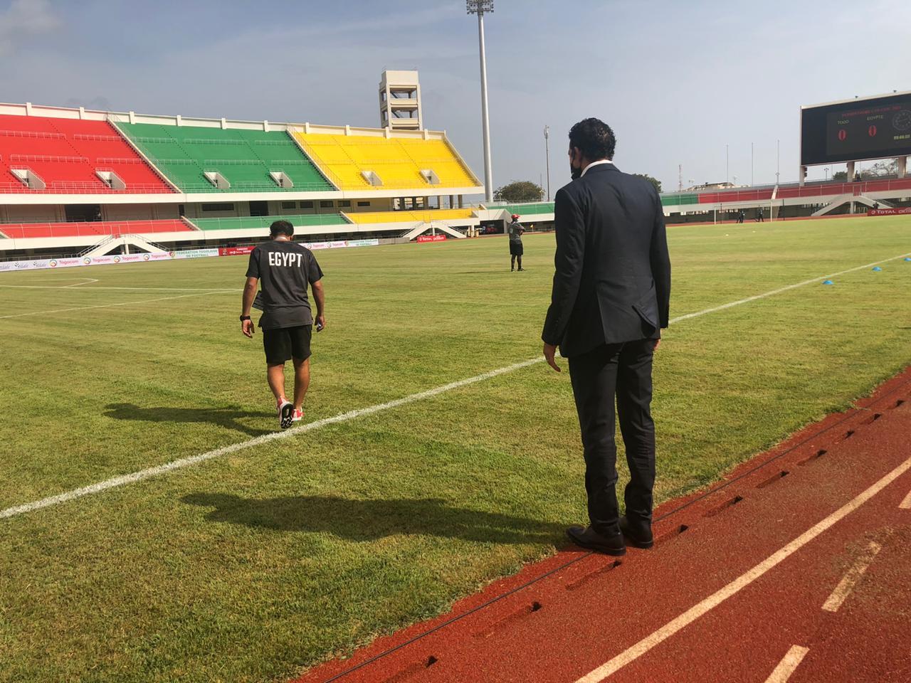 صناديق مباراة توجو ضد مصر (4)