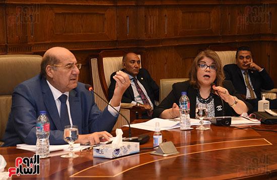 اجتماع لجنة لائحة الشيوخ (14)