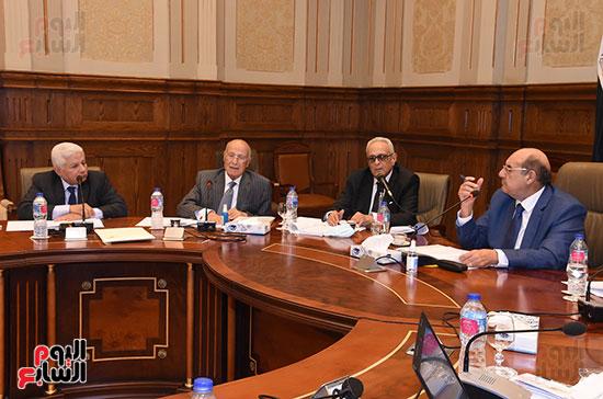 اجتماع لجنة لائحة الشيوخ (1)