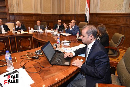 اجتماع لجنة لائحة الشيوخ (12)