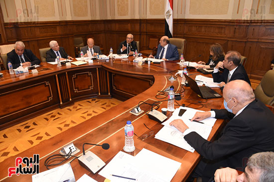 اجتماع لجنة لائحة الشيوخ (9)
