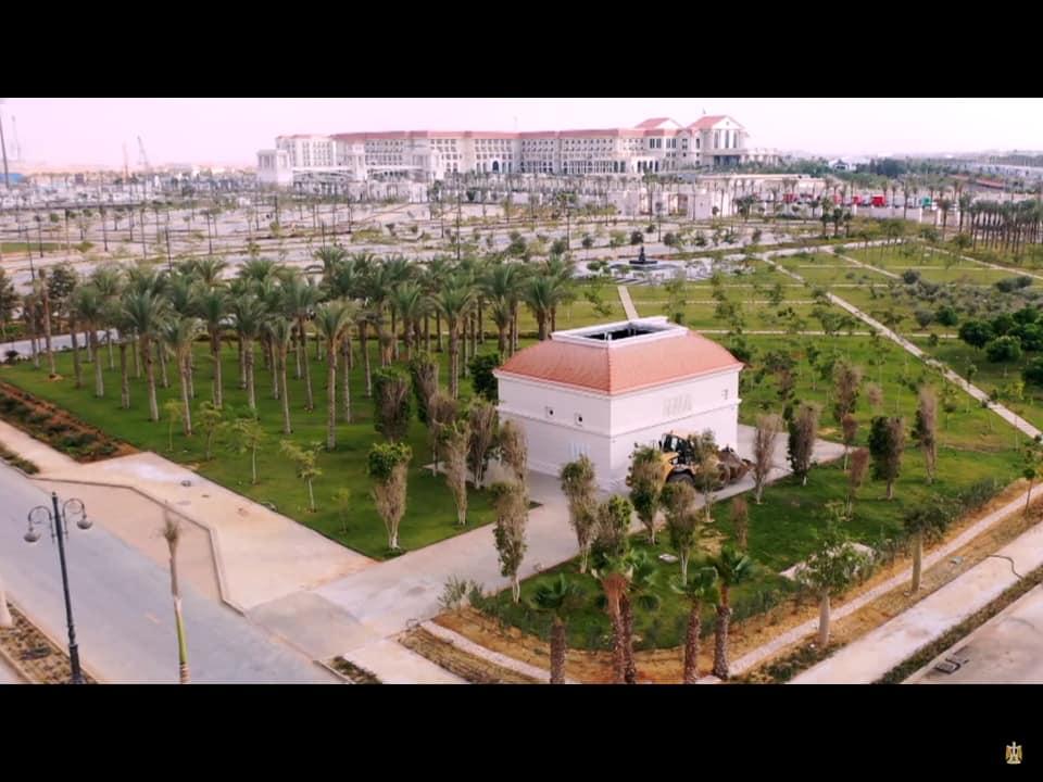 أعظم انجاز ثقافي وفني في العاصمة الإدارية