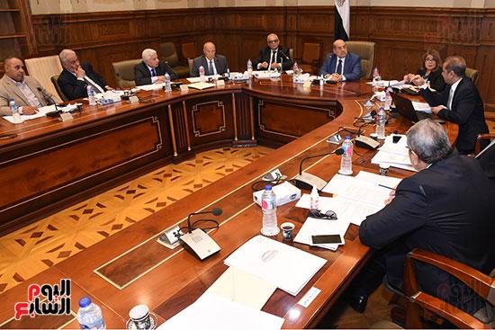اجتماع لجنة لائحة الشيوخ (2)
