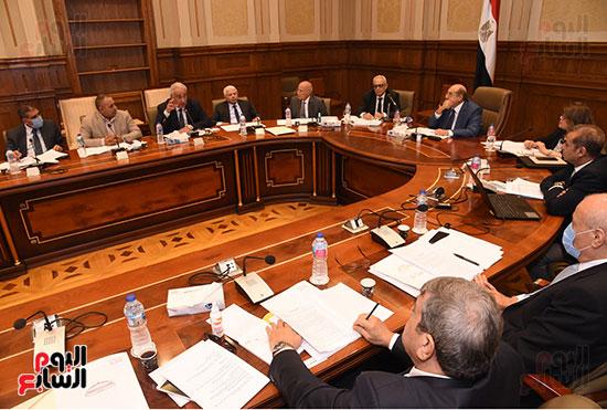 اجتماع لجنة لائحة الشيوخ (7)