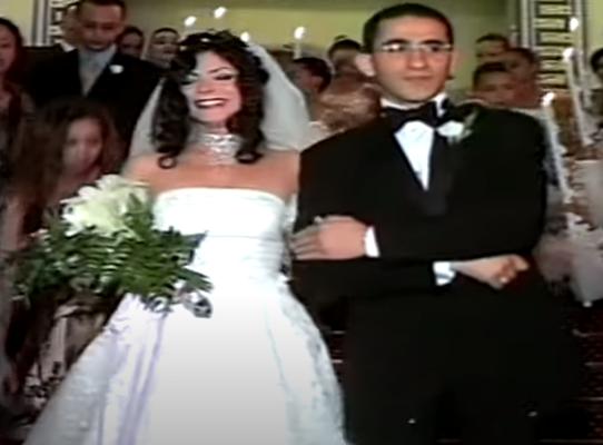 حفل زفاف منى زكى واحمد حلمى