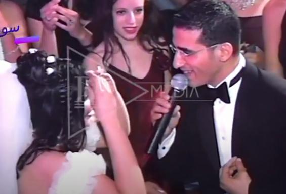 غناء احمد حلمى لـ منى زكي