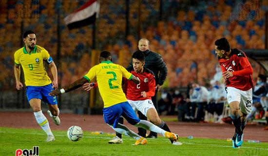 المنتخب الأولمبي أمام البرازيل  (4)