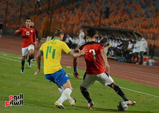 المنتخب الأولمبي أمام البرازيل  (7)