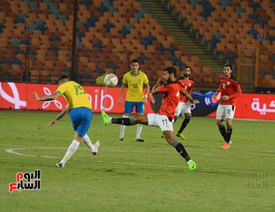 المنتخب الأولمبي أمام البرازيل  (8)