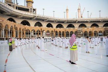 صلاة الاستسقاء بالمسجد الحرام