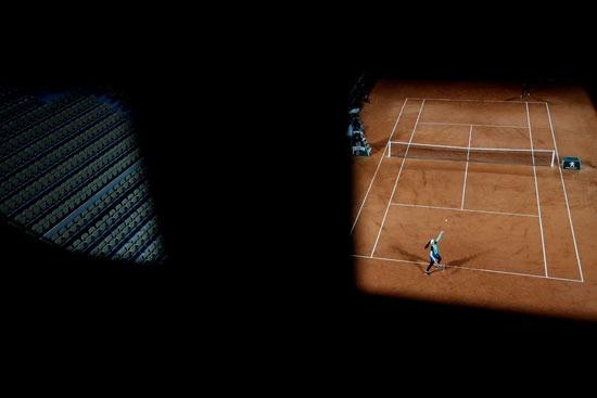 بطولة التنس المفتوحة فى باريس بفرنسا