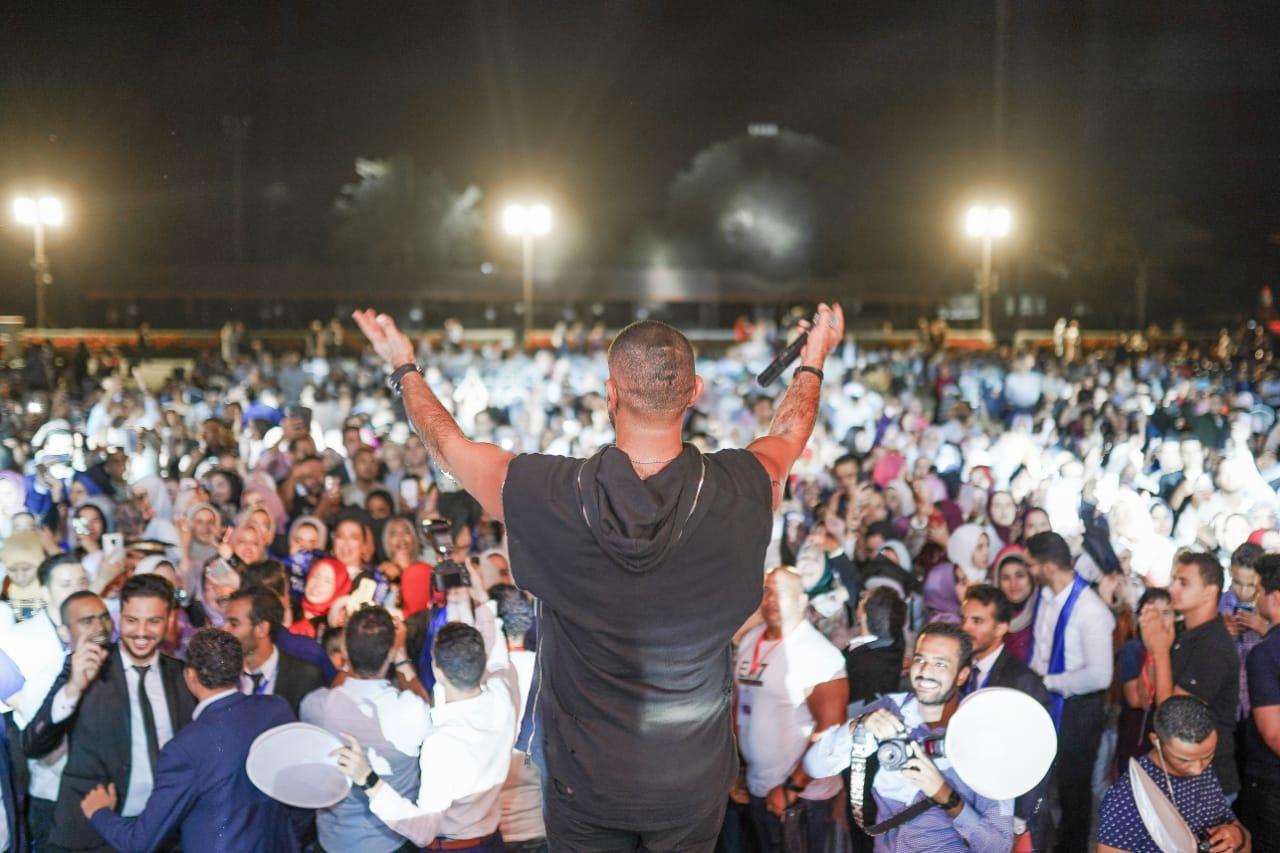 حفل أحمد سعد (2)