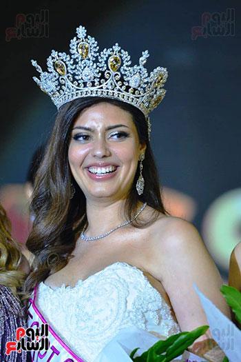 نسمة عطا الله ملكة جمال مصر 2020 (1)