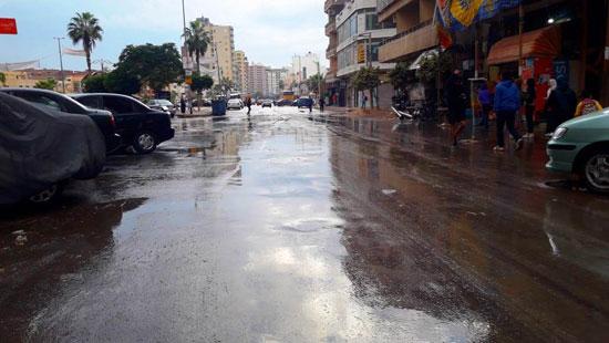 الأمطار تغرق شوارع المحافظات (14)
