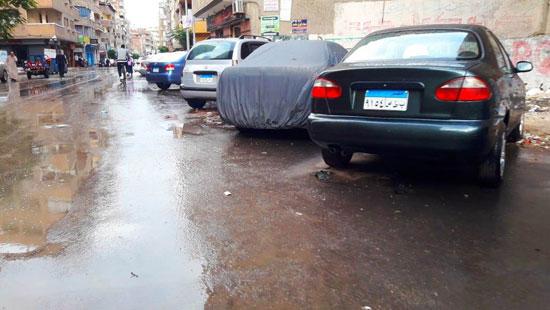 الأمطار تغرق شوارع المحافظات (11)