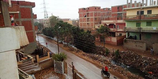 الأمطار تغرق شوارع المحافظات (1)