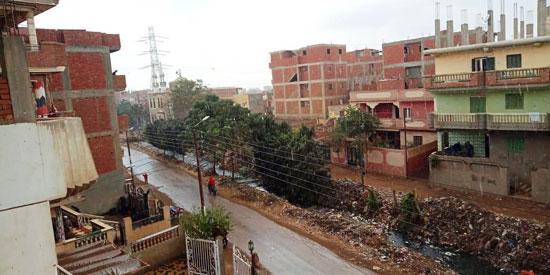 الأمطار تغرق شوارع المحافظات (2)