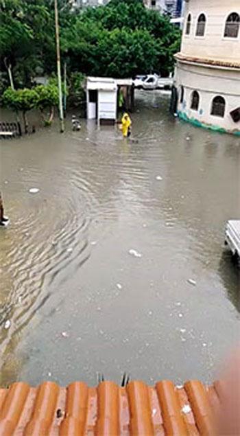 الأمطار تغرق شوارع المحافظات (6)