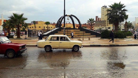 الأمطار تغرق شوارع المحافظات (17)