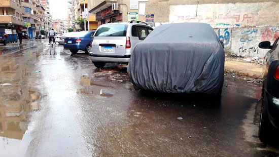 الأمطار تغرق شوارع المحافظات (10)