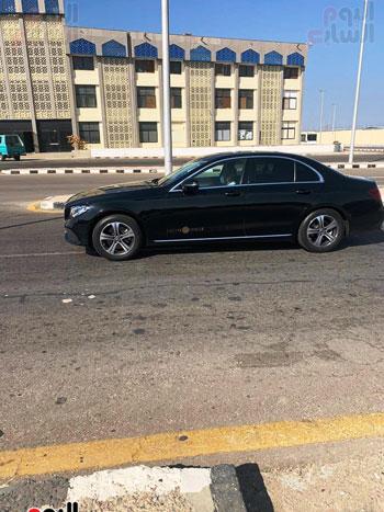 محمد صلاح يصل لمطار الغردقة الدولي (4)