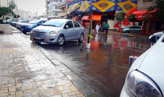 الأمطار تغرق شوارع المحافظات (15)