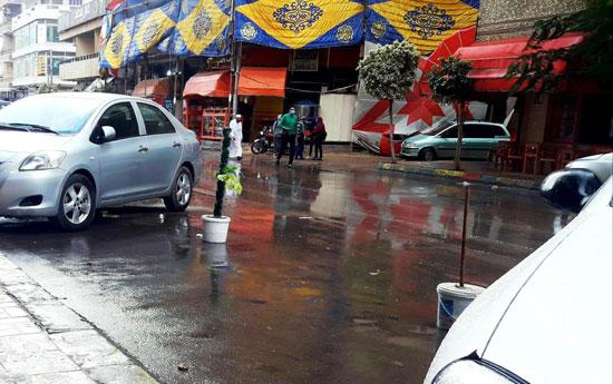 الأمطار تغرق شوارع المحافظات (16)