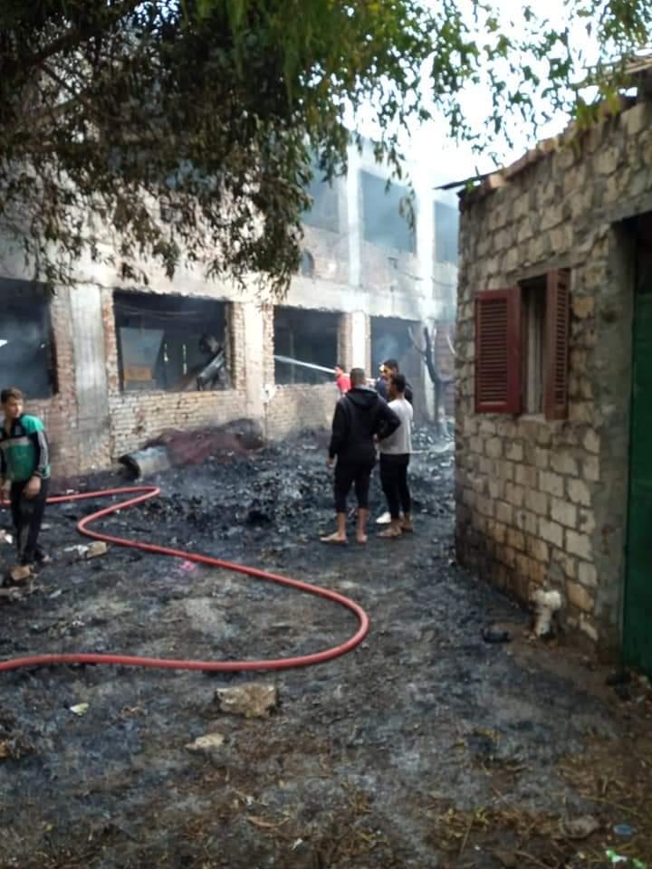 حريق مزرعة دواجن