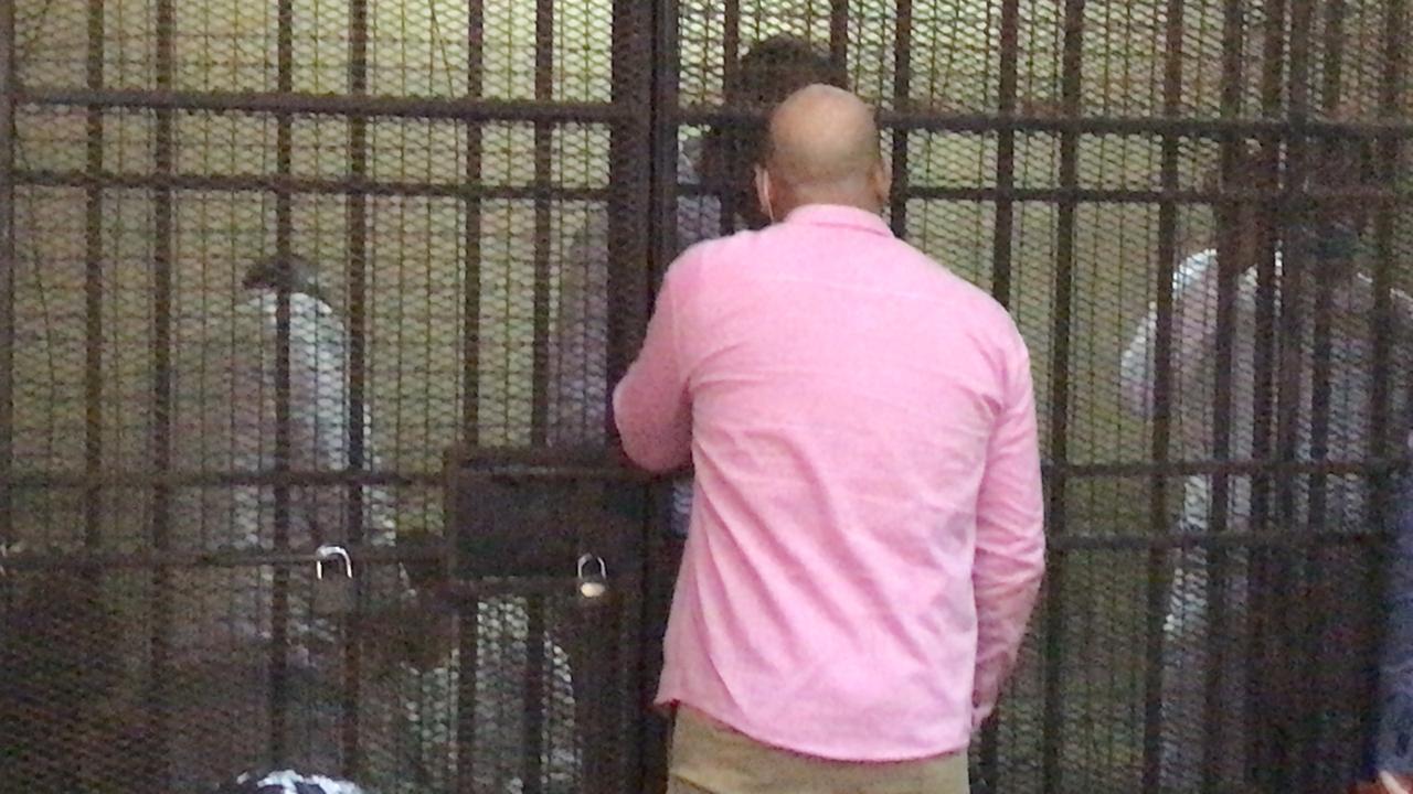 الظهور الاول للمتهمين بقتل فتاة المعادى (4)