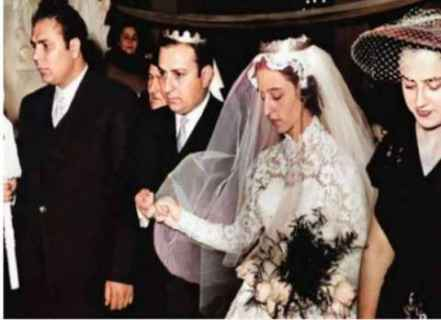 فيروز في حفل زفافها