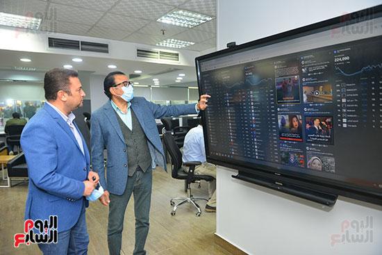 أحمد بيتشو ودندراوى الهواري رئيس التحرير التنفيذي (2)