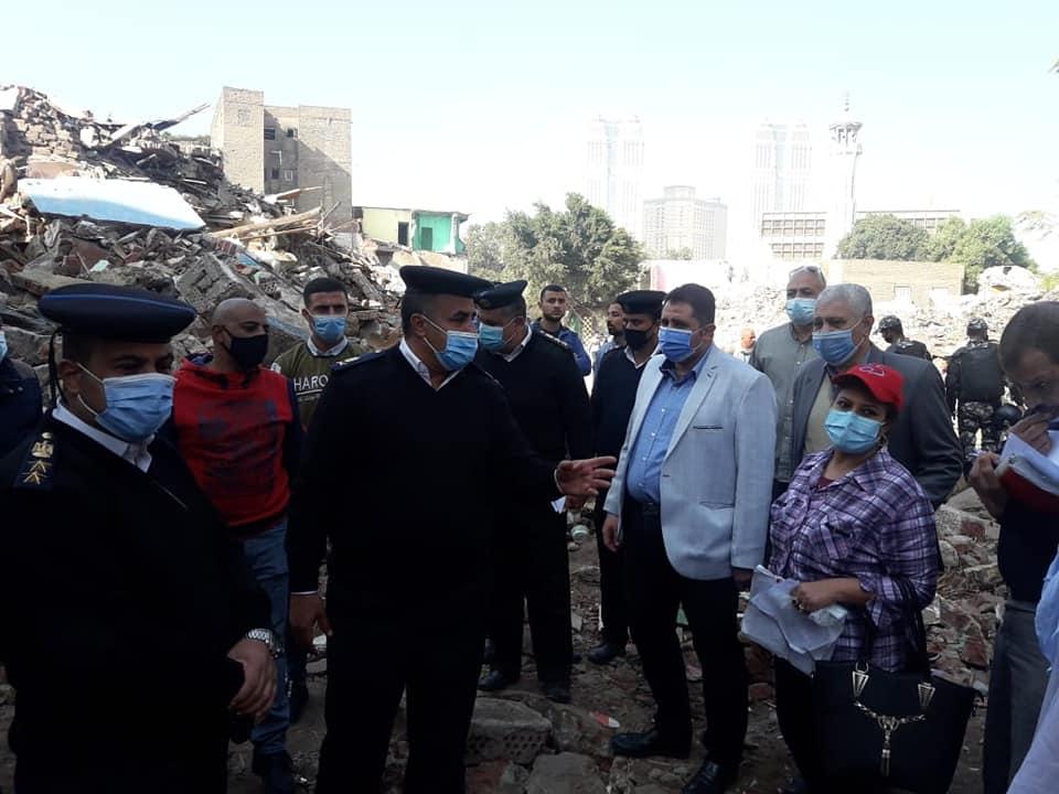 نائب محافظ القاهرة خلال أعمال نقل السكان