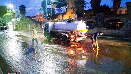 شفط مياه الأمطار من الشوارع (5)