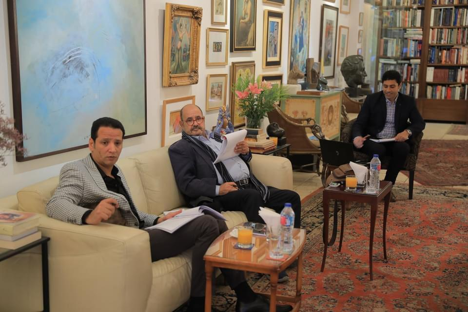 لجنة تحكيم مسابقة فاروق حسنى (5)