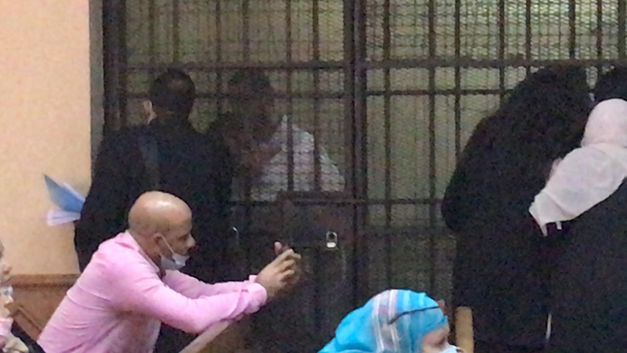 الظهور الأول للمتهمين بقتل فتاة المعادى (4)